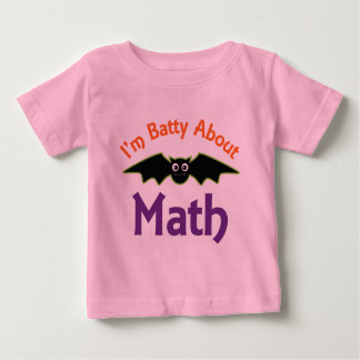 Im Batty About Math Baby T-Shirt