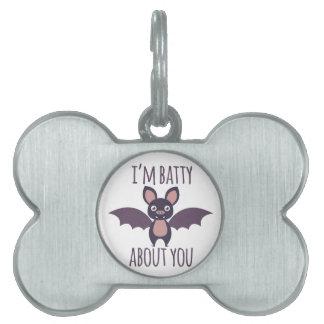 Im Batty Pet Tag