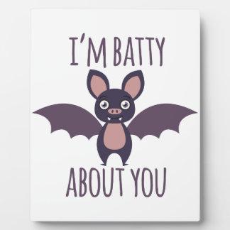 Im Batty Plaque