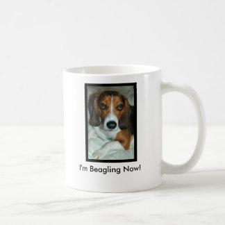 I'm Beagling Now! Coffee Mug