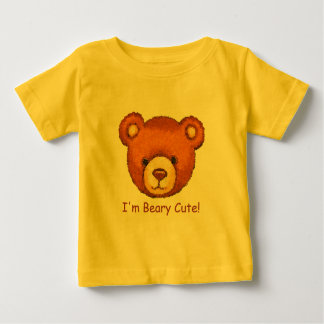 I'm Beary Cute! ~ Teddy Bear T Shirt Top ~ Baby