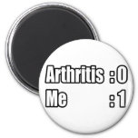 I'm Beating Arthritis Fridge Magnets
