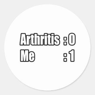 I'm Beating Arthritis Stickers