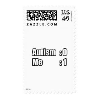 I'm Beating Autism Postage Stamps