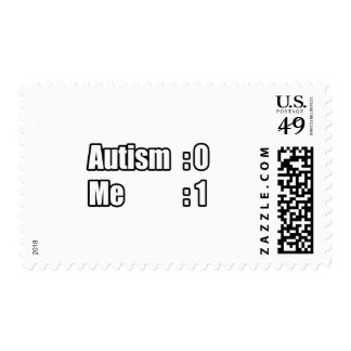 I'm Beating Autism Stamp