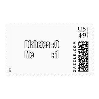 I'm Beating Diabetes (Scoreboard) Stamp