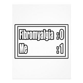 "I'm Beating Fibromyalgia (Scoreboard) 8.5"" X 11"" Flyer"