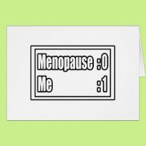 I'm Beating Menopause (Scoreboard) Card