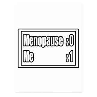 I'm Beating Menopause (Scoreboard) Postcard