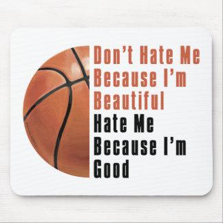Im Beautiful Im Good Basketball Mouse Pad