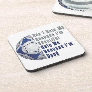 Im Beautiful Im Good Futbal Coaster
