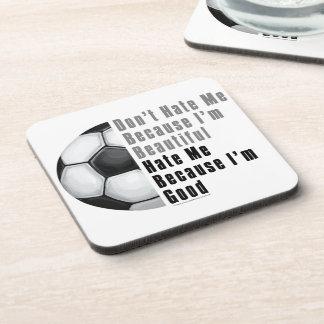 Im Beautiful Im Good Soccer Ball Coaster