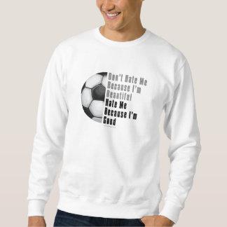 Im Beautiful Im Good Soccer Ball Sweatshirt