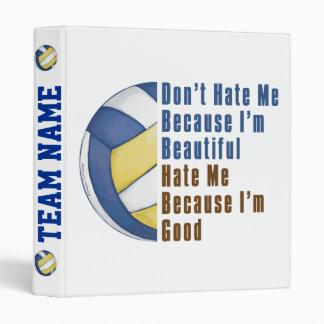 Im Beautiful Im Good Volleyball 3 Ring Binders