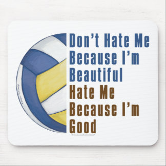 Im Beautiful Im Good Volleyball Mouse Pad