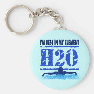 I'M BEST IN MY ELEMENT - H2O KEYCHAIN