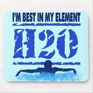I'M BEST IN MY ELEMENT - H2O MOUSE PAD