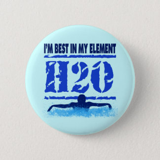 I'M BEST IN MY ELEMENT - H2O PINBACK BUTTON