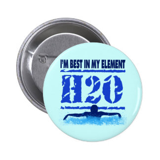 I'M BEST IN MY ELEMENT - H2O PINS