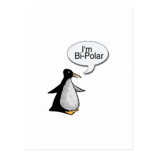 I'm Bi-Polar Postcard