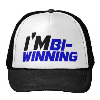 I'm Bi- Winning Trucker Hat