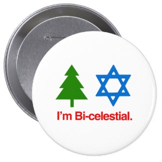 I'M BICELESTIAL -.png Pinback Buttons