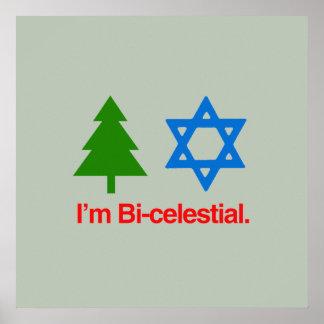 I'M BICELESTIAL PRINT