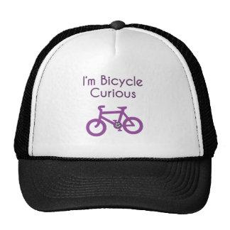 Im bicicleta curiosa gorro