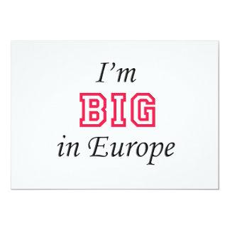 I'm Big in Europe Card