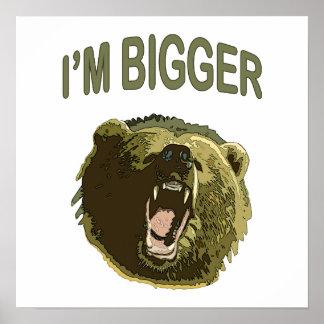 I'm Bigger Bear Print