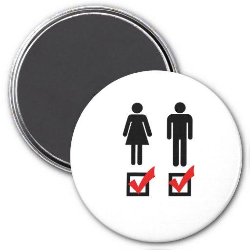 I'm Bisexual 3 Inch Round Magnet