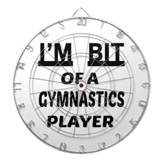 I'm Bit of a Gymnastics player Dartboard With Darts