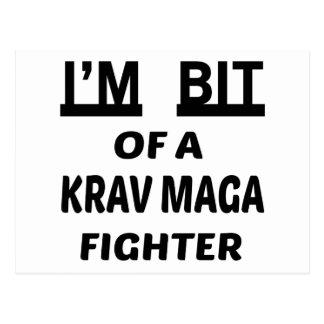 I'm bit of a Krav Maga fighter Postcard