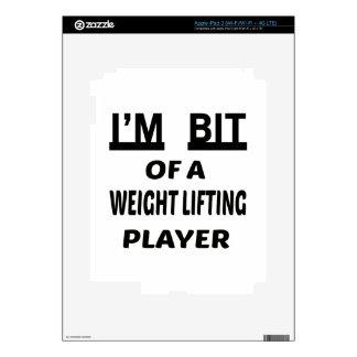 I'm Bit of a Weight Lifting player iPad 3 Skin