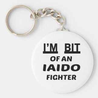I'm bit of an Iaido fighter Basic Round Button Keychain