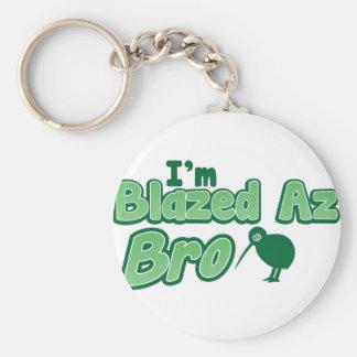 I'm Blazed az BRO Keychain