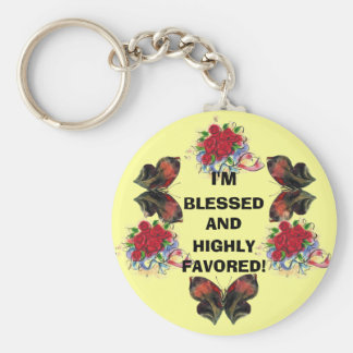 I'M BLESSED! Key Chain