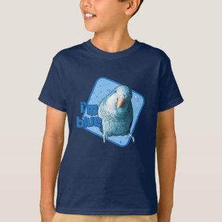I'm Blue Quaker Parakeet Kid's Dark TShirt
