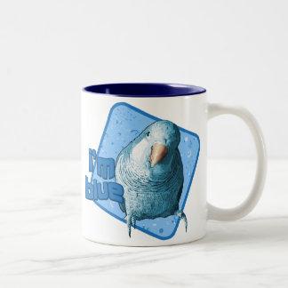I'm Blue Quaker Parakeet Mug