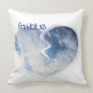 I'm blue… throw pillow
