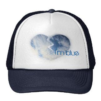 I'm blue… trucker hat