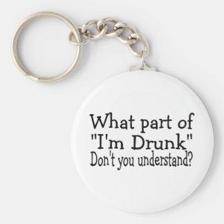 Im borracho llaveros personalizados