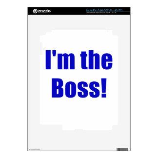 Im Boss iPad 3 Pegatina Skin