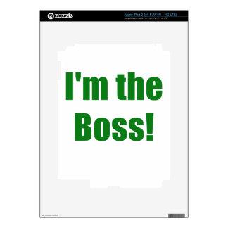 Im Boss iPad 3 Pegatinas Skins