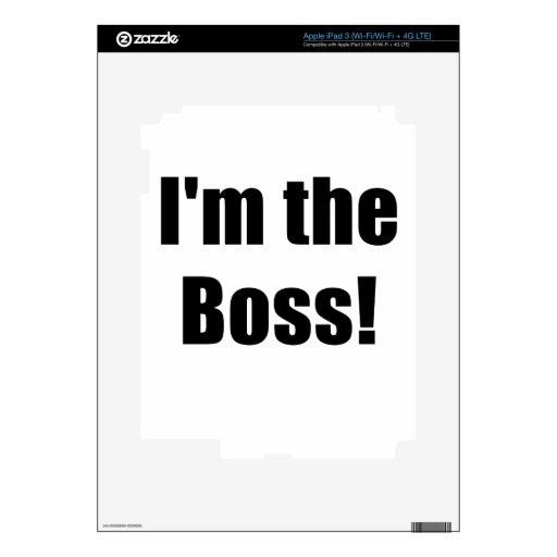 Im Boss Pegatina Skin Para iPad 3