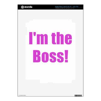 Im Boss Pegatinas Skins Para iPad 3