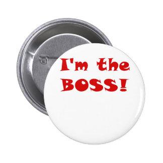 Im Boss Pin Redondo De 2 Pulgadas