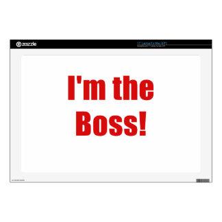 Im Boss Portátil Calcomanías