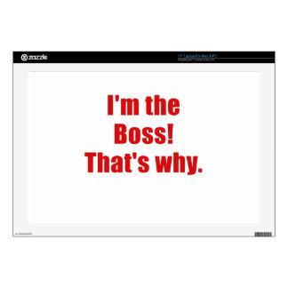 Im Boss que es por qué Portátil 43,2cm Skins