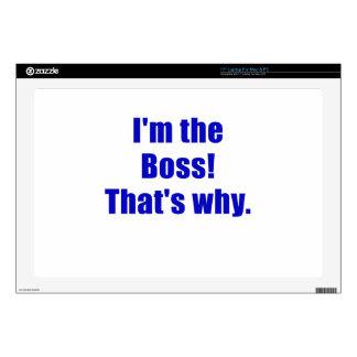Im Boss que es por qué Skins Para 43,2cm Portátil